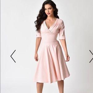 Unique Vintage pink dress